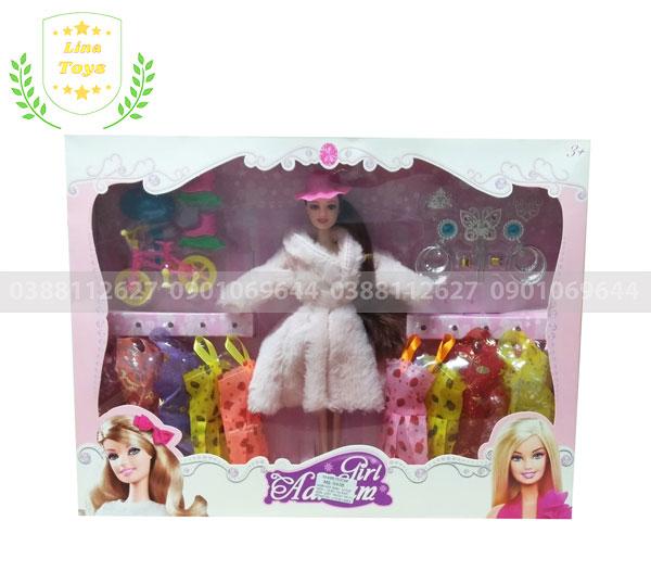 Búp bê barbie 10 áo