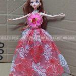 Búp bê công chúa mặc đầm hoa