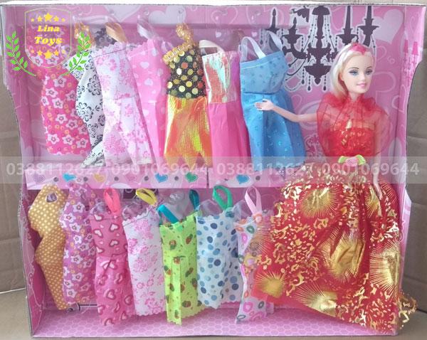 Búp bê barbie beauty 14 áo