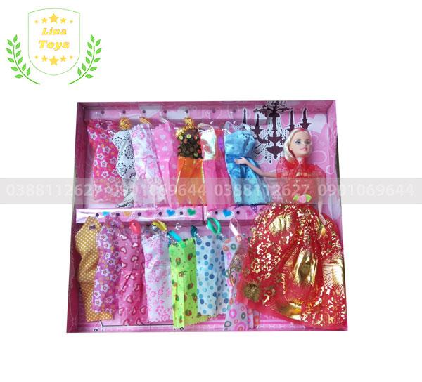 Đồ chơi búp bê barbie beauty 14 áo