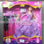 Hộp búp bê barbie mẹ và bé 02 áo