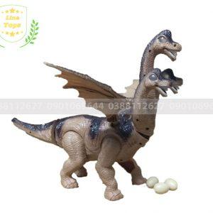 Đồ chơi khủng long bạo chúa 3 đầu