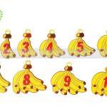 Đồ chơi toán học khỉ cân chuối