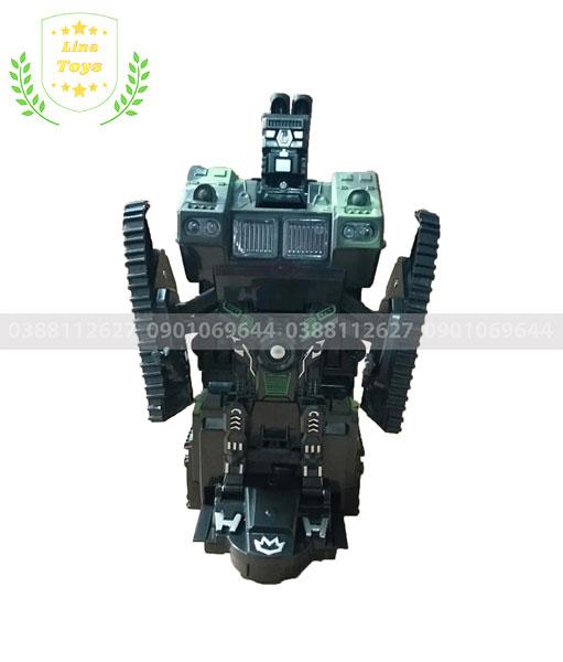 Xe tăng điều khiển biến hình Robot