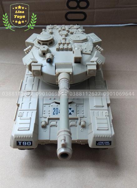 Xe tăng quân sự điều khiển từ xa T-90