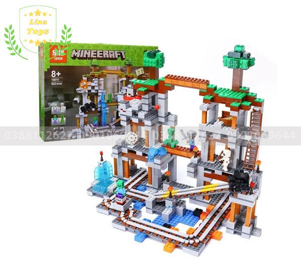 Bộ đồ chơi Minecraft