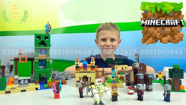 Đồ chơi minecraft cho bé trai