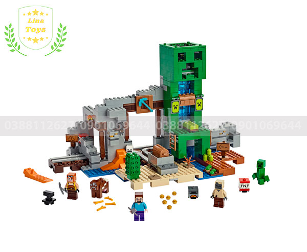 Đồ chơi xếp hình lego minecraft
