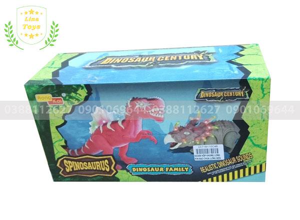 Đồ chơi khủng long bạo chúa chiến đấu