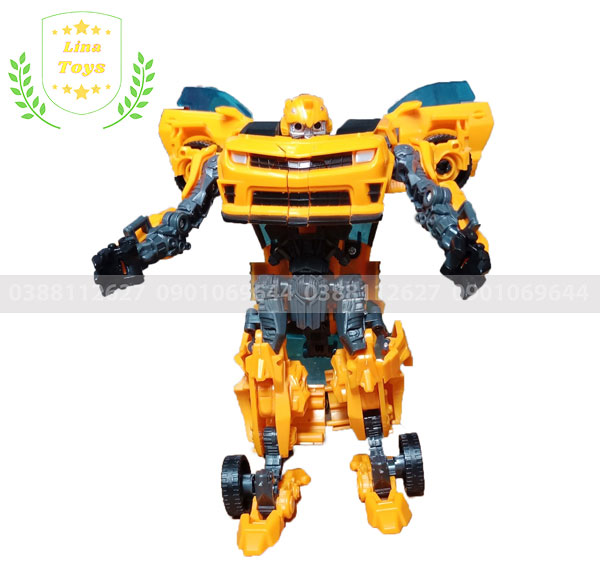 Đồ chơi lắp ráp Robot biến hình Transformer Bumblebee