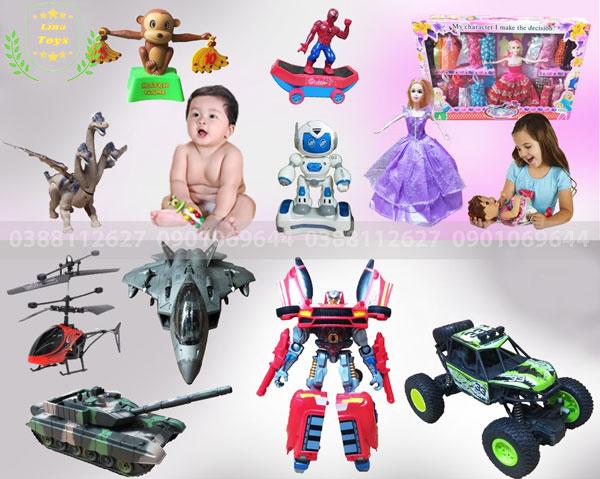 Cửa hàng đồ chơi rẻ em tại TP.HCM