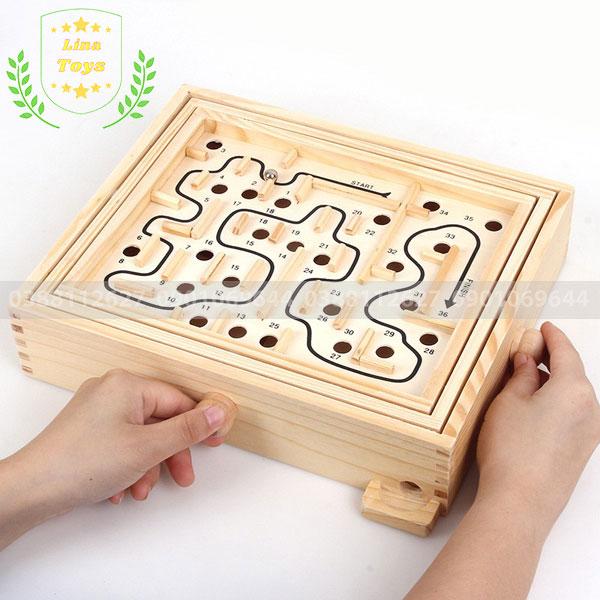 Đồ chơi bi lăn mê cung
