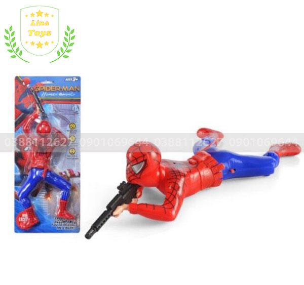 Đồ chơi siêu nhân nhện bắn súng