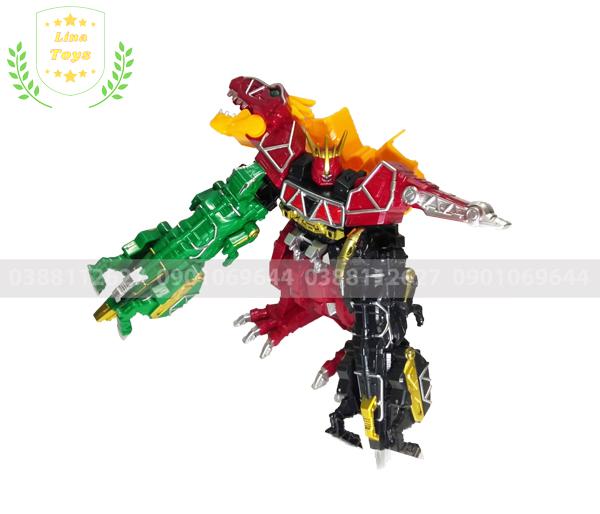 Robot siêu nhân khủng long điện