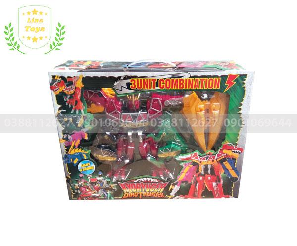 Bộ đồ chơi robot khủng long