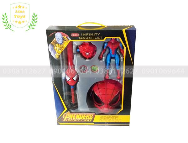 Bộ đồ chơi siêu nhân người cao cấp