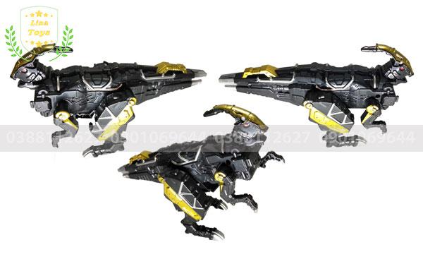 Đồ chơi robot khủng long đen