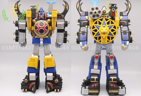 Mô hình robot siêu nhân cuồng phong hợp thể