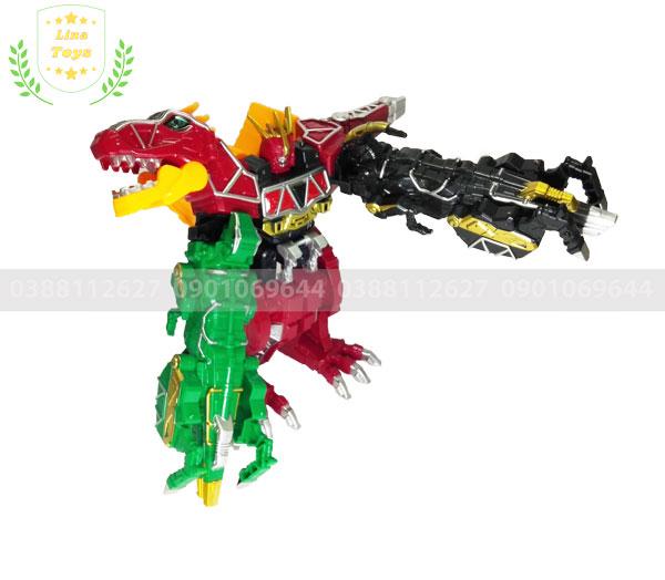 Robot siêu nhân khủng long