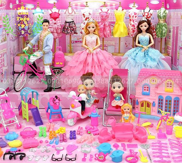 Top 5 bộ đồ chơi búp bê bán chạy nhất hiện nay