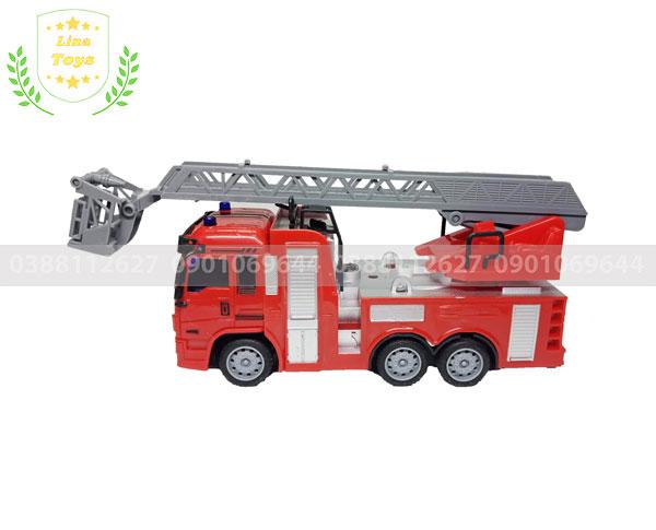 Xe cứu hỏa điều khiển từ xa