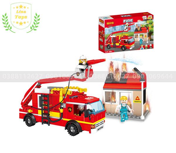 Đồ chơi Lego City cứu hỏa