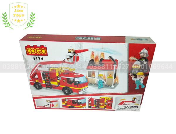 Đồ chơi lego cứu hỏa