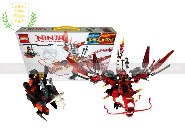 Đồ chơi lego ninja rồng đỏ