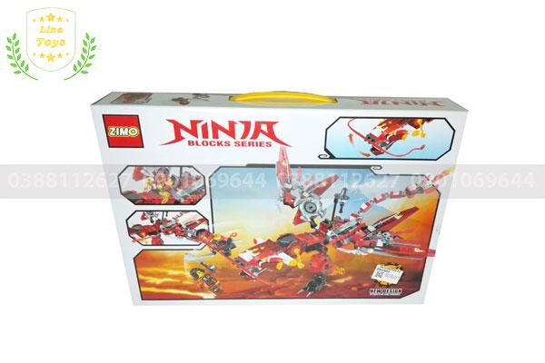 Bộ đồ chơi Lego Ninja rồng