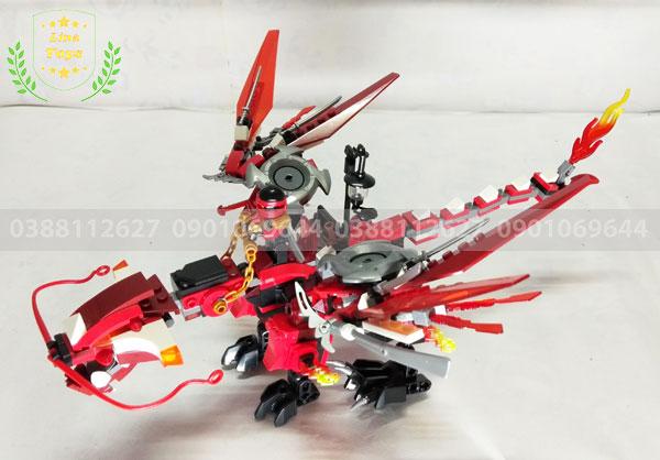 Lego Ninja Kai rồng đỏ
