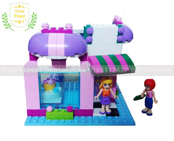 Lego tiệm bánh
