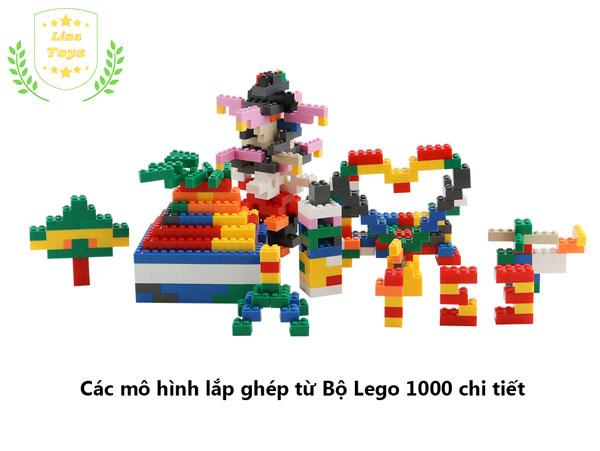 Bộ lego 1000 chi tiết