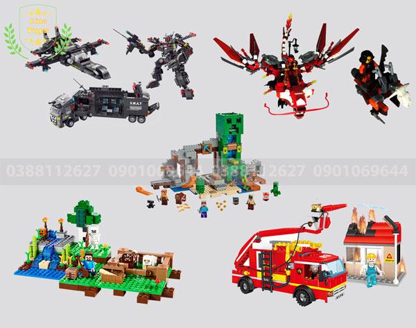 Top 5 bộ lego cho bé trai được chọn nhiều nhất