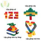 Hướng dẫn lắp ghép lego 1000 miếng