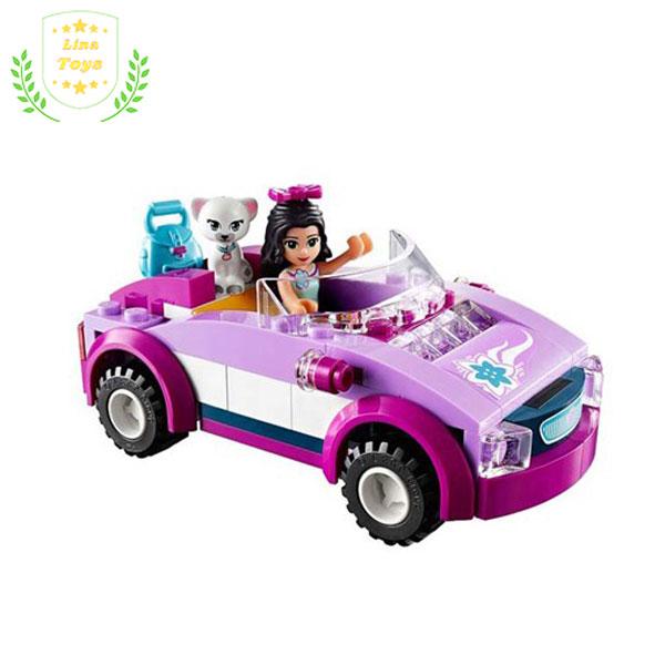 Lego xe ô tô bé gái