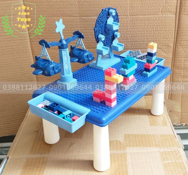 Bàn chơi lego 69 chi tiết cho bé