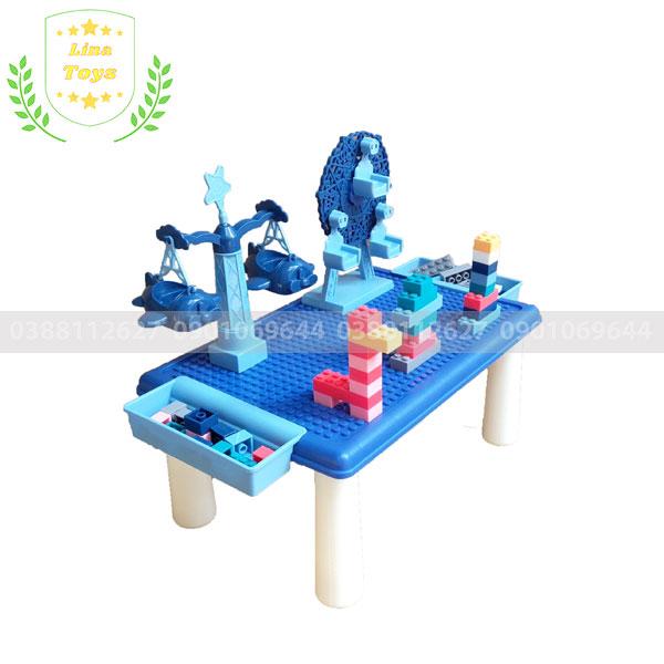 Bàn chơi lego cho bé 69 chi tiết