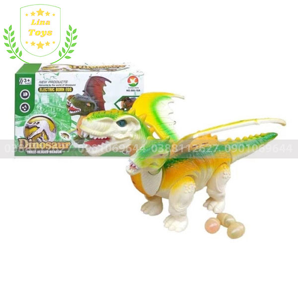 Đồ chơi khủng long bay 3 đầu