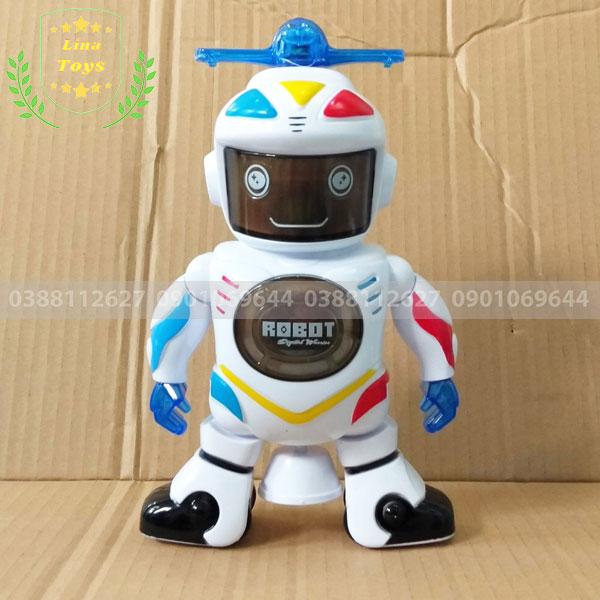 Đồ chơi robot xoay 360 độ cho bé