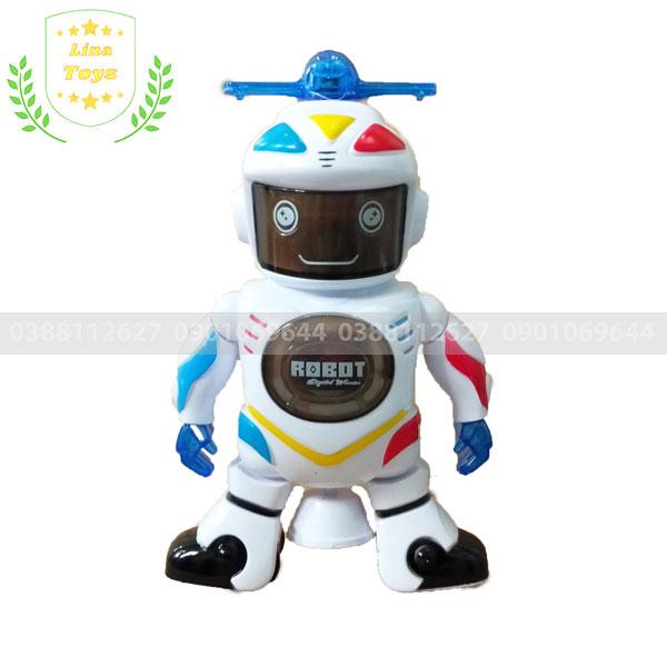 Robot đồ chơi xoay 360 độ