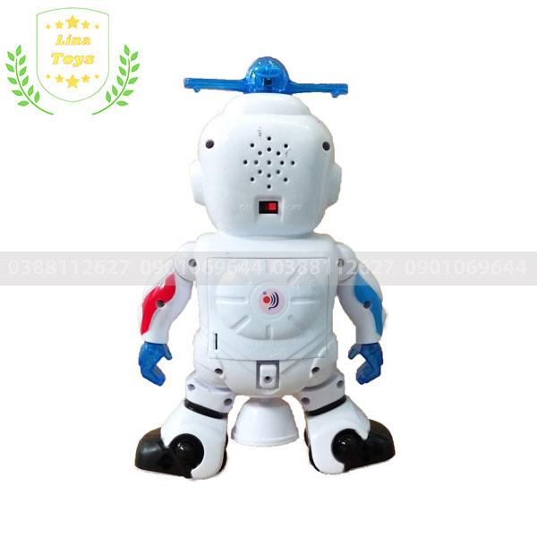Robot xoay 360 độ đồ chơi