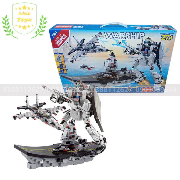 Lego tàu chiến 27 mô hình