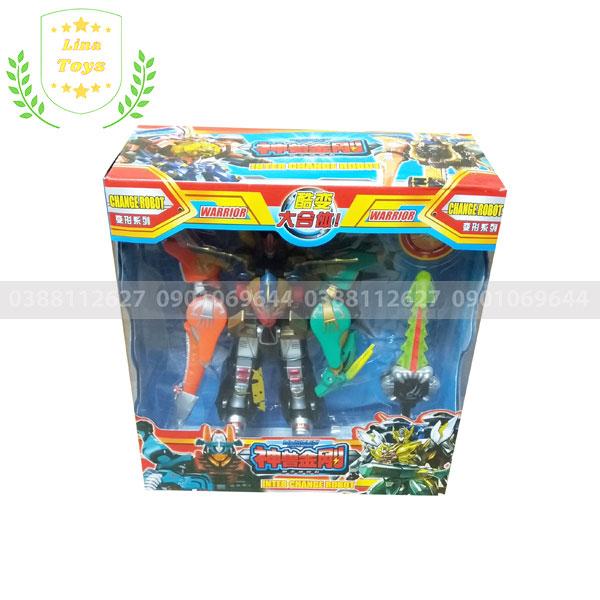Bộ đồ chơi siêu nhân gao icarus