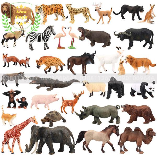 Bộ đồ chơi thú vật