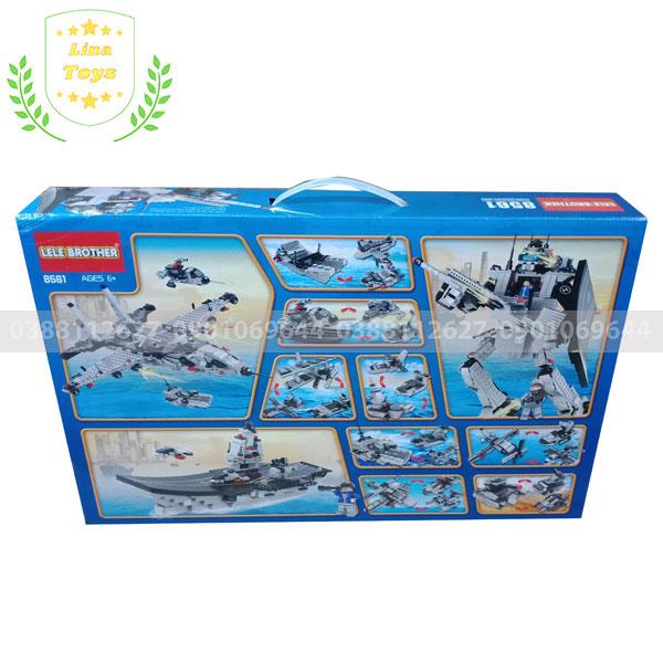 Bộ lego tàu chiến 27 mô hình