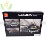 Bộ lego xe tăng