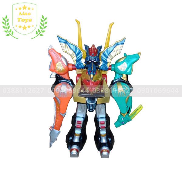 Đồ chơi robot siêu nhân gao Icarus