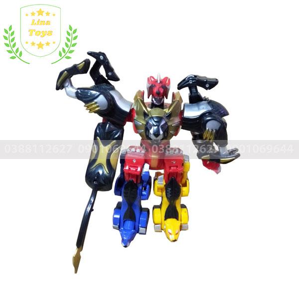 Đồ chơi robot siêu nhân mãnh thú