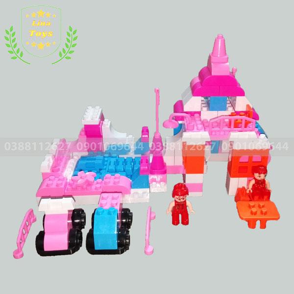 Lego con gái ngôi nhà
