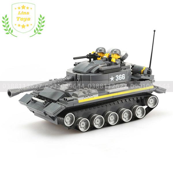 Lego xe tăng cho bé
